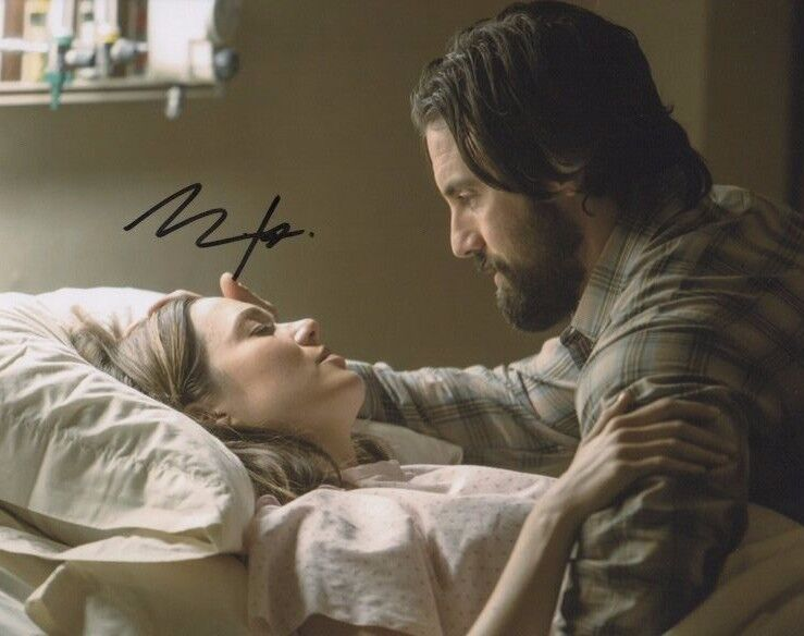 Milo Ventimiglia This is Us Autographed Signed 8x10 Photo COA