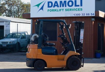 Toyota Forklifts for hire from $140+gst per week