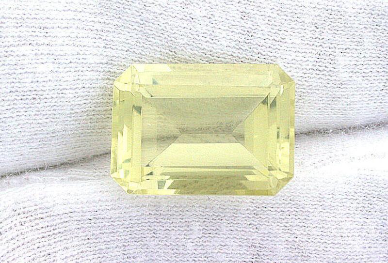 18x13 18mm x 13mm Natural Brazilian Emerald Citrine Gem Stone Gemstone EBS2109