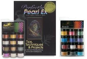Pearl Ex Powders - 2 Sets - Brand New - 24 Jars - Pearlex