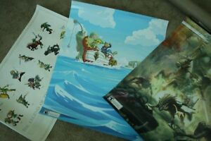Legend of Zelda Posters from Club Nintendo