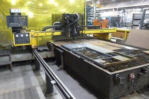 8' X 12', ESAB, 2004, CNC PLASMA CUTTING MACHINE