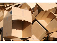 Free Good Size cardboard boxes suitable for home removal or commerical use