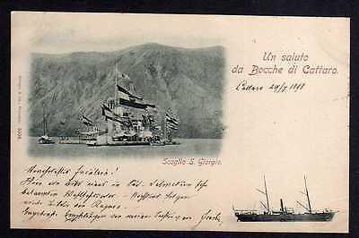 86586 AK Scoglio S. Giorgio Un Saluto da Bocche di Cattaro