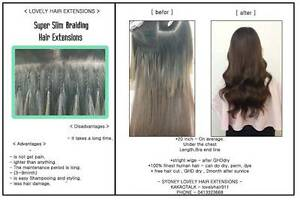 High quality 100% human hair braid skills extensions Neutral Bay North Sydney Area Preview