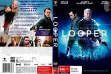 Looper - Bruce Willis Joseph Gordon-Levitt Emily Blunt DVD Marrickville Marrickville Area Preview