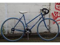 Vintage Ladies racing bike PEUGEOT frame 19in Serviced & warranty - NEW TYRES BRAKES CABLES