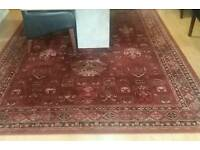 Pure wool large rug excellent condition