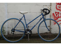 Vintage Ladies racing bike PEUGEOT frame 19in Serviced & warranty - NEW TYRES BRAKES CABLES
