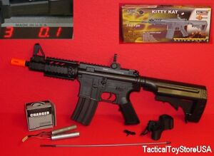 R-aeg-DPMS-Firepower-RIS-Kitty-Kat-M4-M4a1-Retractable-Stock-348fps-NOT-A-SPRING