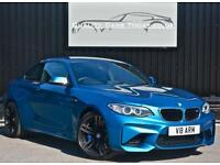 BMW M2 3.0 Manual ( 365bhp ) Long Beach Blue + Harmon Kardon + Heated Seats