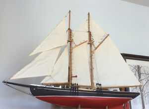 Newfoundland hand-crafted model schooner
