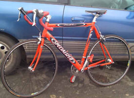 Specialized Allez Lightweight Road bike 56 cm. Medium/Large STI gears