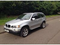 BMW X5 3.0i Sport Manual In Silver