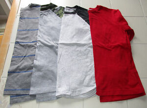 4x Boys long sleeve shirts from Old Navy size Lg (10/12)
