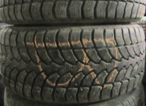 P225/40/18 Winter Claw Extreme Grip Studded (99% TREAD) (2 TIRES