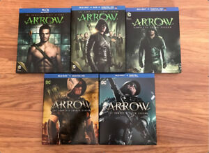 Blu-Ray: ARROW saisons 1 à 5