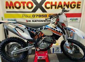 2015 KTM EXC-F 350 SIX DAYS...ROAD REGISTERED..£4795...MOTO X CHANGE