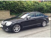 Mercedes Benz C Class 1.8 C200 kompressor sport 4 door
