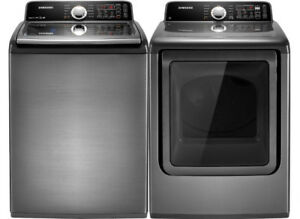 Samsung top load washer and Dryer set