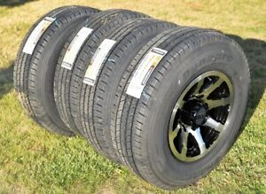 ** 4 New Hankook LT245-75-16 on alloy rims (in Kelowna) **