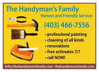 Renovation family business,superior quality and service,fair