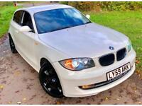 BMW 118 2.0TD 143**SPORT 3DOOR DIESEL**6Speed,ONLY 65K,£30Tax**