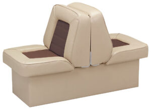 """Wise Bucket Style 10"""" Base Runabout Lounge Seat 1 Tan New In Box"""