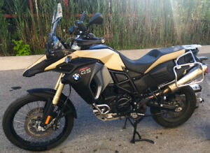 2014 BMW F800 GS Adventure in like-new condition for sale