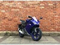 Yamaha YZF R-125 NOT MT125 WR125x r125 CBR CBF RC Geared Bike