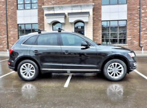 2013 Black Audi Q5 2.0 Quattro - beautiful! Don't miss!