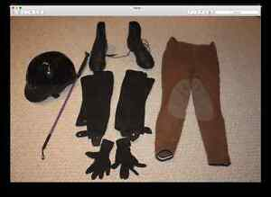 Horse Back Riding Equipment for 9 or 10 year old girl