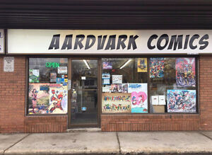 COME AND SEE US , LOTS OF COMIC BACK ISSUES