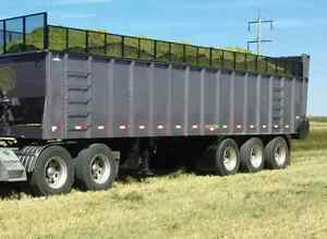 38 ft Tri axle silage trailer