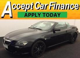 BMW 650 4.8 auto 2007MY i Sport FROM £57 PER WEEK!