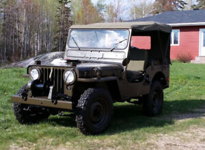 1952 M38 Willy's Military Jeep