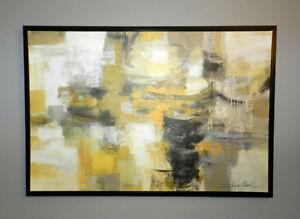 ★NEUF★ toile abstraite moderne contemporaine ★ valeur de 250$ ★