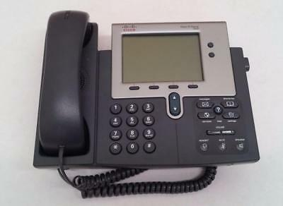 Refurbished Cisco Business Office Voip Unified Ip Phone 7940g Whandset Cp-7940g
