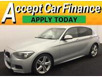 BMW 118 2.0TD ( 143bhp ) Auto 2013MY d M Sport FROM £51 PER WEEK!