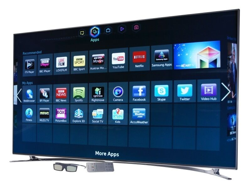 samsung smart tv ue65f8000st 65 3d 1080p hd led internet