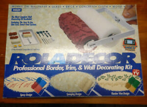 Emson Roladecor Painting Stencil Kit NEW