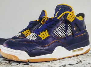 Jordan retro 4 dunk from above colorway