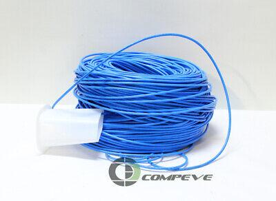 Black Box 1000ft CAT6 Solid Bulk Cable 550MHz UTP Blue Cmr PVC EYN870A-PB-1