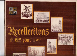 Book Recollections of 125 Years = City of Kitchener Cambridge Kitchener Area image 2