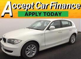 BMW 118 2.0TD auto 2011MY d ES FROM £33 PER WEEK !