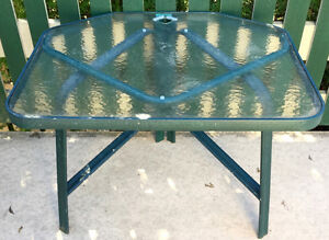 4 Seater Patio Table