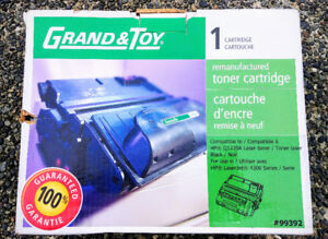 Unopened Grand & Toy Reman Toner HP Q1339A Black Standard Yield