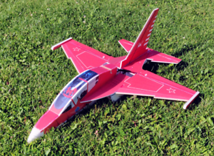Rc airplane yak130 parkjet plug and fly