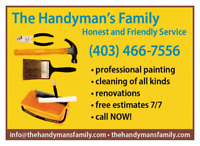 ***PAINTER, EXELLENT SERVICE AND QUALITY,FAIR PRICE,4034667556**