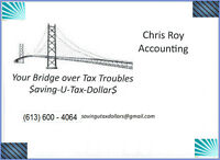 Income Tax Returns •Tax Man on Your Case • In Arrears ?